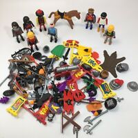 Lot PLAYMOBIL Castle Knights Figures Weapons Accessories