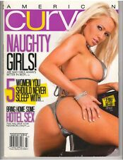 AMERICAN CURVES #67 bikini lingerie fitness magazine/JENNA WEBB 3-11