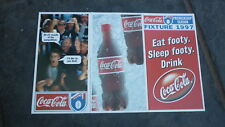 OLD AFL SEASON FOOTBALL FIXTURE, 1997 COCA COLA VERSION
