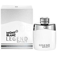 Mont Blanc Legend Spirit 3.3 / 3.4 Oz EDT SP New In Box Sealed Cologne For Men