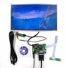 "HDMI VGA 2AV LCD Driver board 14"" 1366x768 lcd panel HT140WXB With Touch Panel"