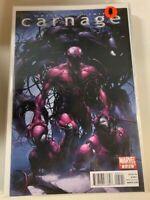 Carnage #5 Crain Wells 1st SCORN Venom Spider Man Symbiote Marvel