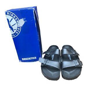 Birkenstock Arizona EVA Mens Black Synthetic Flip-Flops Sandals Shoes M9 L11