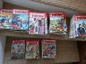 Gros lot CAP'TAIN SWING 2eme série (années 2000-...) et AKIM // des mensuels et