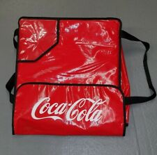 """Coca-Cola Pizza Delivery Insulated Bag - Never Used 19"""" x 19"""" x 6"""""""