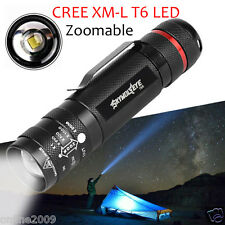 5000LM Zoomable Mini CREE T6 LED Flashlight Torch 5 Modes Super Bright Light FT