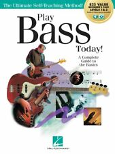 Play Bass Today All-in-One Beginner's Pack - Includes Book 1 Book 2 Au 000293924