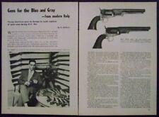 1851 Navy Arms Replica .36 revolver pistol 1961 pictorial Val Forgett