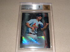 STEPHEN PISCOTTY AUTO, SIGNED 2014 BOWMAN STERLING PROSPECT CARD BGS 9 MINT 10