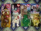 McDonald's 1999 TY BEANIE BABIES INTERNATIONAL BEAR set-4 happy meal toys