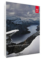 Adobe Photoshop Lightroom 6 Dvd-vollversion De En ES PT FR It NL SE Win & Mac