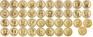 Presidential Dollar Proof Ultra Cameo Coins 2007-2016 in Pick Yours