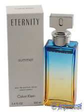 Eternity Summer 2017 By Calvin Klein Tster 3.3/3.4oz. Edp Spray Women New  Tster