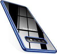 Silikon Handy Hülle für Samsung S9 S10 Plus Note 9 10 Case Schutzhülle Cover