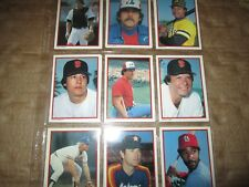 1984 Topps 40 Card All_Star Glossy Set COMPLETE