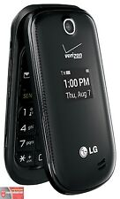 NEW LG Revere 3 VN170 Black (Verizon)(Page Plus)(Straight Talk) Flip Cell Phone