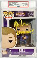Alex Winter autograph insc Funko Pop Bill & Ted's Excellent Adventure PSA Encap