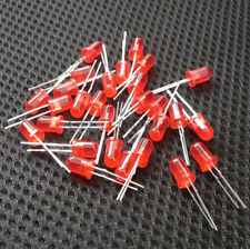 100Pcs LED 3MM RED COLOR RED LIGHT Super Bright GM