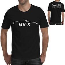 MX-5 Silhouette Birthday Tee Printed Gift T-Shirt