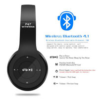 Plegable Bluetooth Inalámbrico / JACK 3,5 MM  Estéreo Auriculares TF Mic TABLET