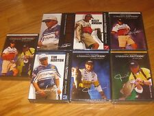 LOT OF 7 CLASSIC PATTERNS BASS FISHING ELITE SERIES DVDS NEW BASSMASTERS CLASSIC