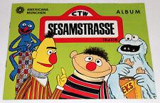Americana 1978 Sesamstrasse Sésame Street 1 X Album Vide Album Rare