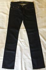 BRAND NEW LADIES  7 FOR ALL MANKIND CLASSIC STRAIGHT LEG DENIM JEANS SIZE: 27