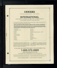 2004 Scott International Postage Stamp Album Supplement Pages A-K 40A #840P104