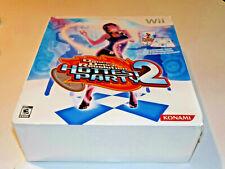 Dance Dance Revolution Hottest Party 2 Bundle GAME w MAT Nintendo Wii New-SEALED