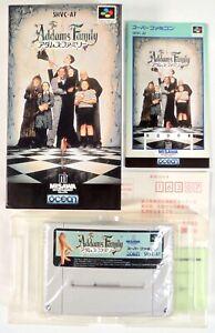 THE ADDAMS FAMILY Nintendo Super Famicom SFC SNES Reg Jap Japan (1)