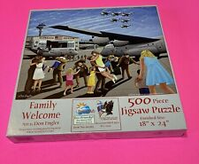 Family Welcome 500 piece puzzle Art By Don Engler