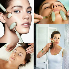 Natural Jade Roller Face Body Massage Tool Wrinkle Massager Beauty Anti Aging