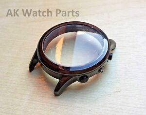 Ceramic Watch CASE/SHELL/HOUSING/DIAL Fits Emporio Armani AR1451/AR1474 bracelet