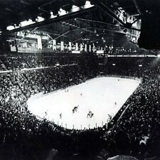 NHL 1970's Inside view Montreal Forum Game Action  8 X 10 Photo Picture