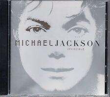 MICHAEL JACKSON - Invincible - CD Album *Silver Cover*