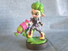 Splatoon 2 Green Inkling Boy Squid Amiibo (USED)