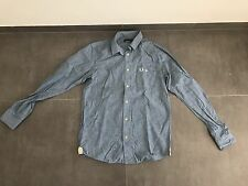 Fred Perry  Shirt Blue Men's Size Small Used