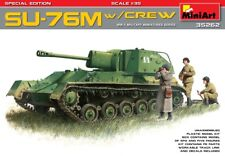 Miniart 1/35 SU-76M with Crew Special Edition # 35262
