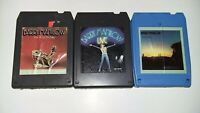 VINTAGE 8 Track tape lot of 3 TAPES BARRY MANILOW ~UNTESTED SOLD AS IS~