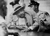 Martin Luther King Jr Arrest PHOTO 1958 Montgomery Alabama Black Civil Rights