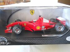 HotWheels Ferrari F2001 Michael Schumacher 1:18 Diecast