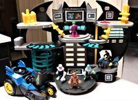 Fisher Price Imaginext DC Super Friends  Bat Cave Playset & Batmobile