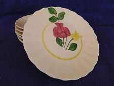 New listing Blue Ridge Pottery Tulip or June Bride Bread Plate 1 of 8 have more items to set