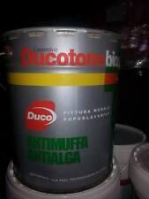 PITTURA MURALE IDROPITTURA DUCO MURO ANTIMUFFA ANTIALGA DUCOTONE BIOGEN lt. 13