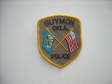 """""""Vintage""""  Guymon Oklahoma Police Sleeve Patch """"New Condition"""""""