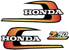 HONDA Z50 1975 Tank  Decals & Sidecover Logo