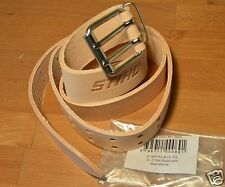 GENUINE STIHL MS200T ms201t Tan Leather Motosega Pantaloni Cintura tracciate POST