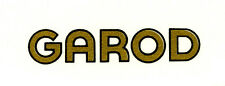 Garod CATALIN Radio Decal, Also for Bakelite and Wood Sets