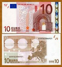 European Union, Germany, 10 Euro, P-9x, 2002, UNC