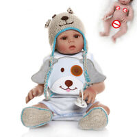 48cm Doll Reborn Baby Boy Full Silicone Vinyl Waterproof Anatomically Correct